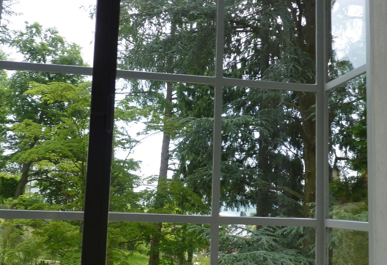 Hemmenhofen Blick aus Dix Atelier