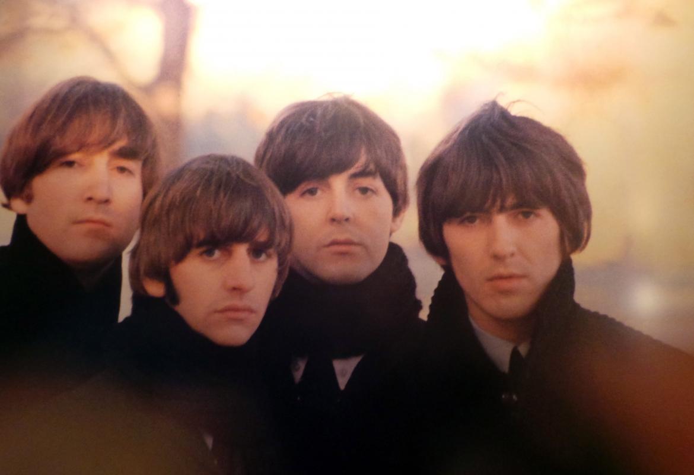 Ewig jung: Die Beatles auf einem Foto im Hotel Edelweiß.
