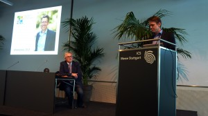 Ehrenpreisträger Zeiss und Rüdiger Edelmann
