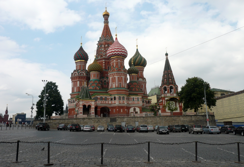 Russland (Basilius Kathedrale in Moskau)