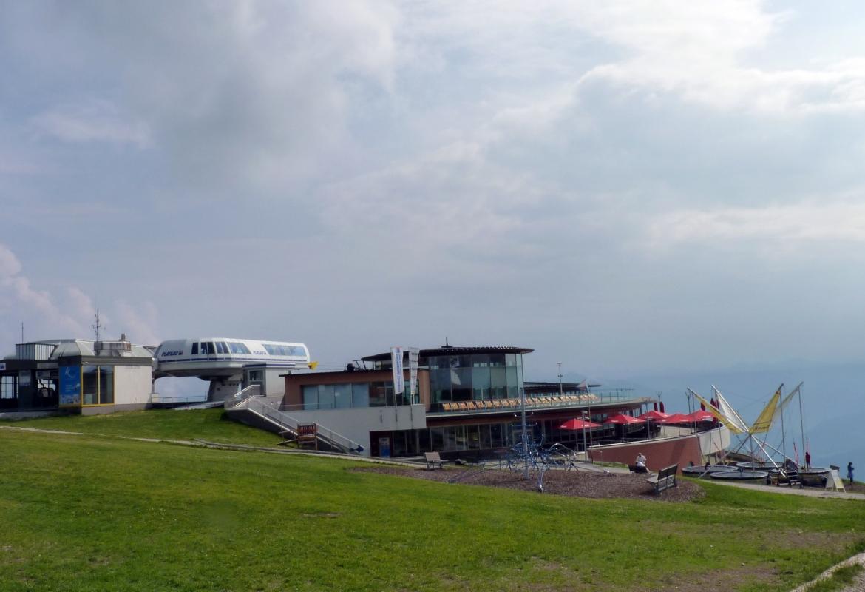 Der Kronplatz ist ein möblierter Berg im Dienst des Tourismus.