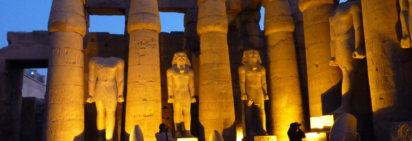 Luxor erleuchtet: Gleich mit drei Katalogen für Ägypten geht FTI in die Wintersaison.