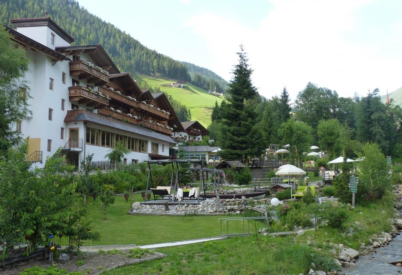 Am Ende des Gsieser Tals liegt das Hotel Quelle.