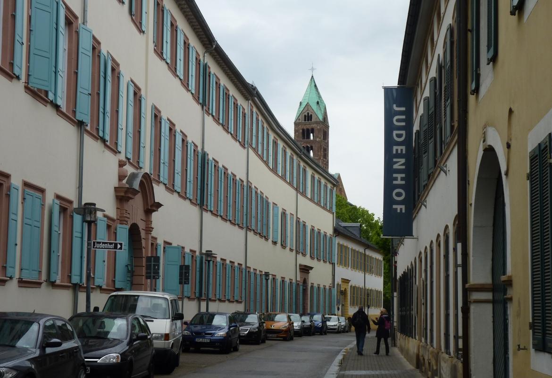 Im Judenhof befindet sich das jüdische Museum.