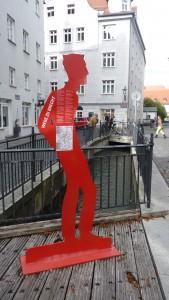 Brecht im Lechviertel