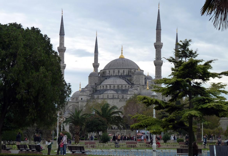 Die Blaues Moschee in Istanbul ist für viele Touristen einer der Höhepunkte  der Städtereise.
