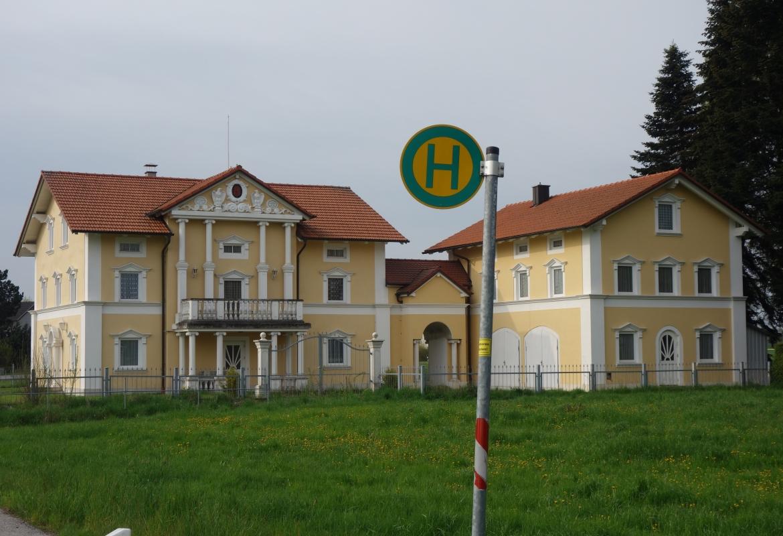 Eine restaurierte Villa für eine Sammlung – auch das gibt's auf dem Land.