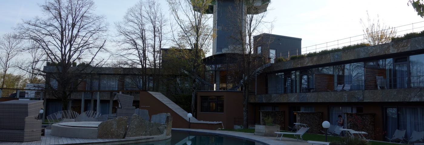 Mawell Resort Langenburg Naturteich und Turm