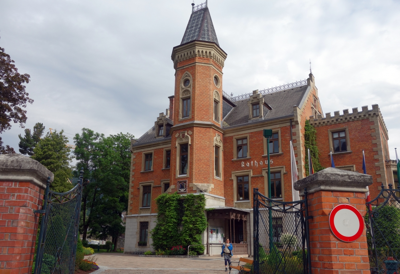 Wie ein Schlösschen: Das Rathaus in Schladming.