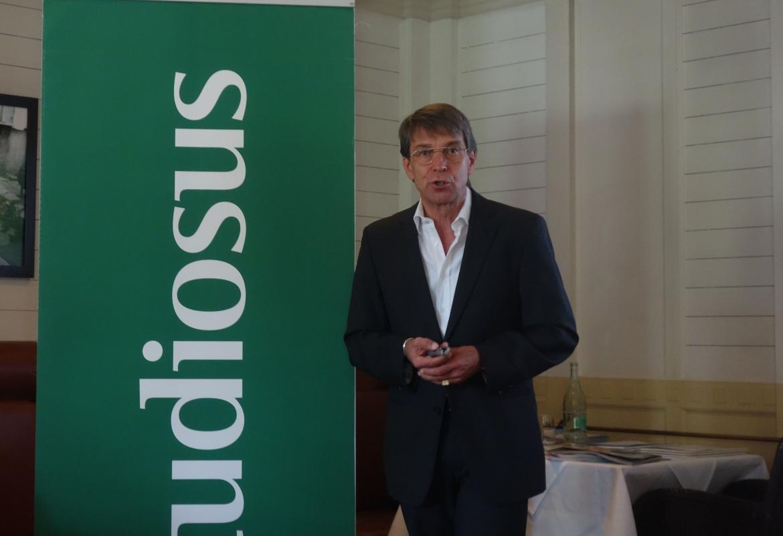 Über Verlierer und Gewinner sprach Studiosus-Chef Peter Mario Kubsch.