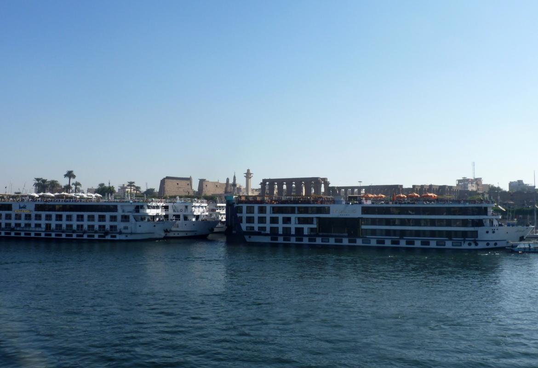 In Ägypten warten viele Nilschiffe vergeblich auf Gäste.