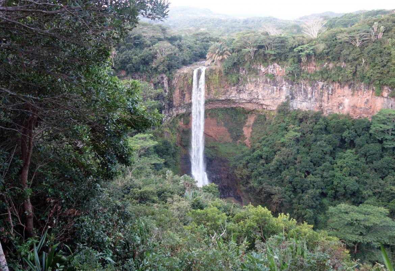 Verlockend: Der Wasserfall von Chamarell.