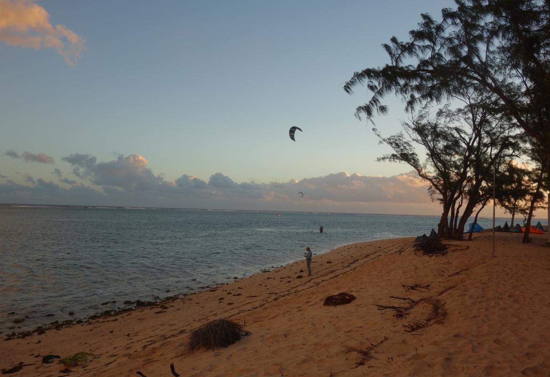 Mauritius Riu Le Morne Kitesurfer