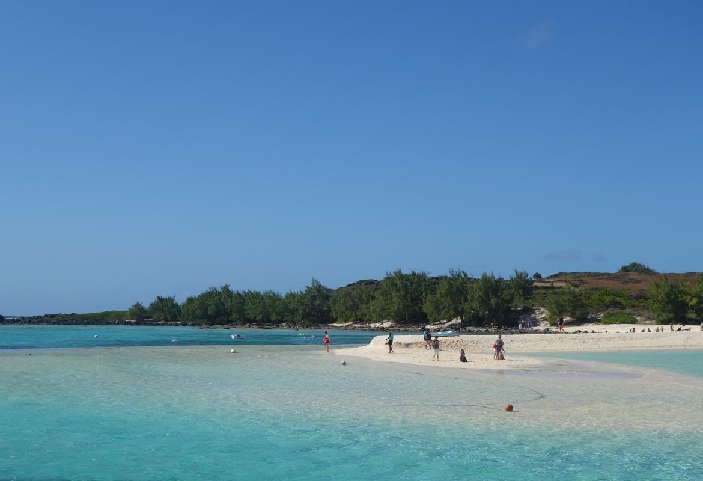 Fast wie auf den Bahamas: Gabriel Island ist das Ziel von so manchem Katamaran-Ausflug.