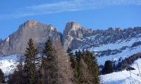 Ski Carezza:  Laurins Winterwunderland