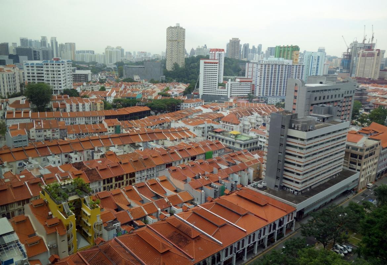 Umstellt von Hochhäusern:  Die alten Viertel von Singapur