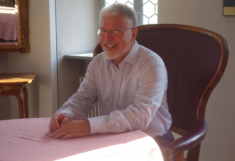 Seit 28 Jahren auf dem Bürgermeister-Sessel in Iphofen: Josef Mend.