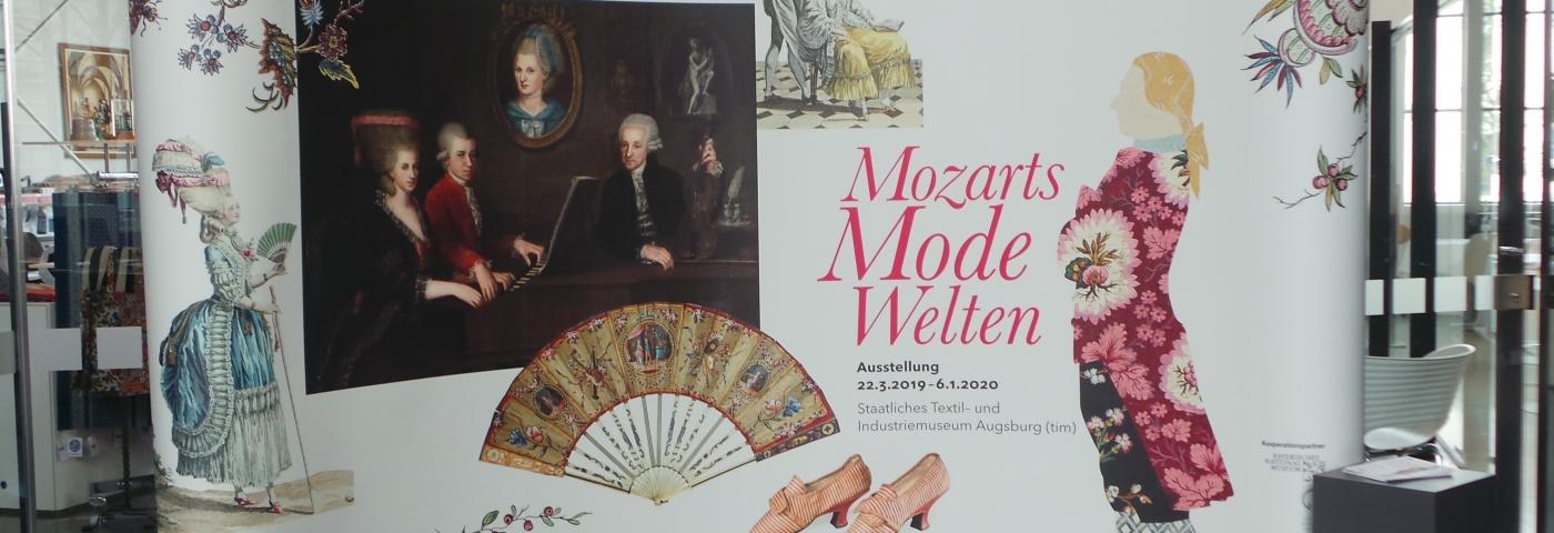 Sonderausstellung im tim Mozarts Modewelten