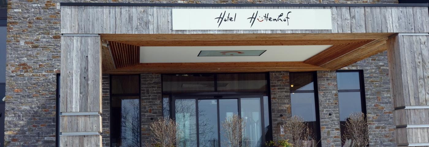 Hotel Hüttenhof Eingang