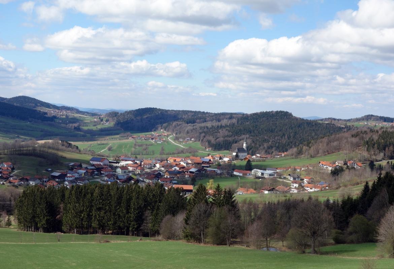 Grainet ist ein hübsches Örtchen im Bayerischen Wald.