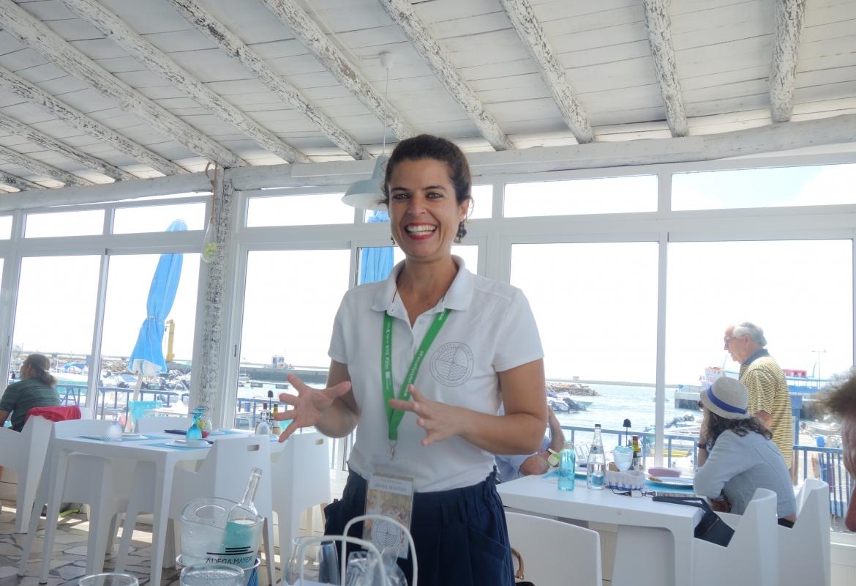Joana verspricht bei ihrer Food Tour durch Olhao nicht nur Gaumen- sondern auch Augenschmaus.