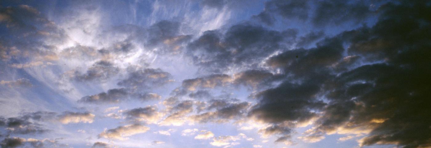 Norwegen, Wolken am Abend
