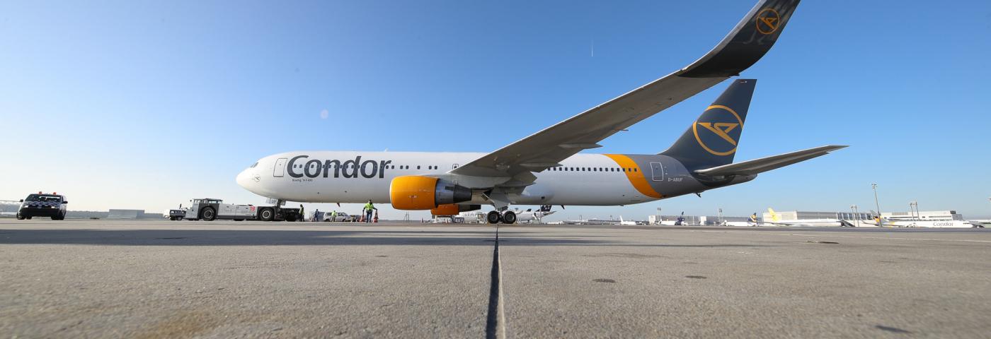 Condor kann weiter fliegen