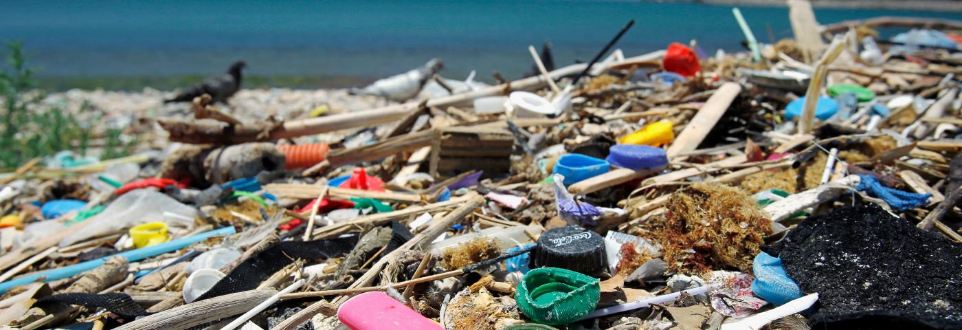 Plastikmüll in Corona-Zeiten